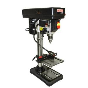 2.Craftsman 10 in Bench Drill Press Laser Trac