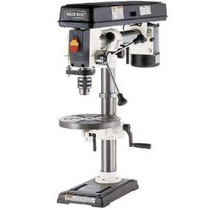 3.SHOP FOX W1669 1-2-Horsepower Benchtop Radial Drill Press