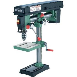 4.Grizzly G7945 5 Speed Bench-Top Radial Drill Press
