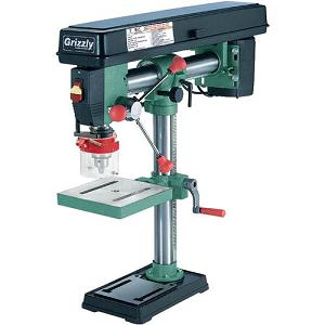 1.Grizzly G7945 Bench-Top Radial Drill Press