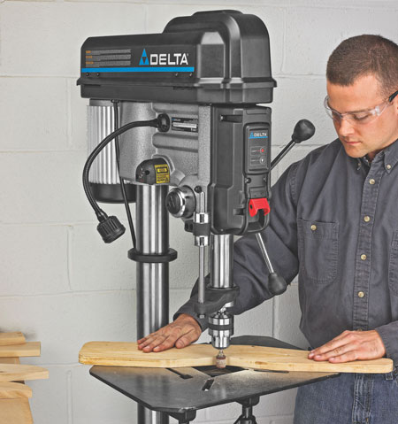Using A Drill Press For Woodworking