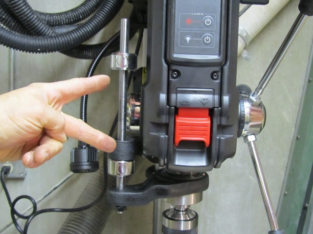 2.Drill press controls