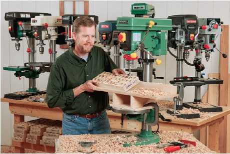 1.Top 5 tips on using a drill press